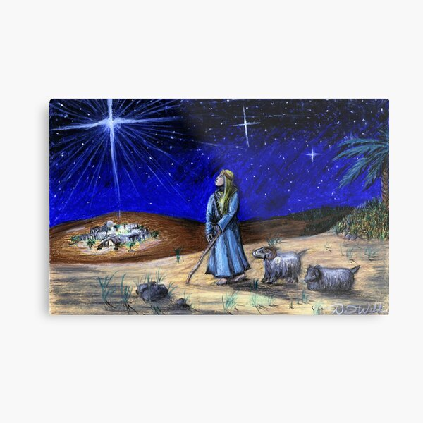 Silent Night Metal Print