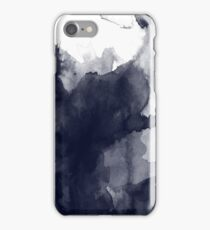 Black and White Ink  iPhone Case/Skin
