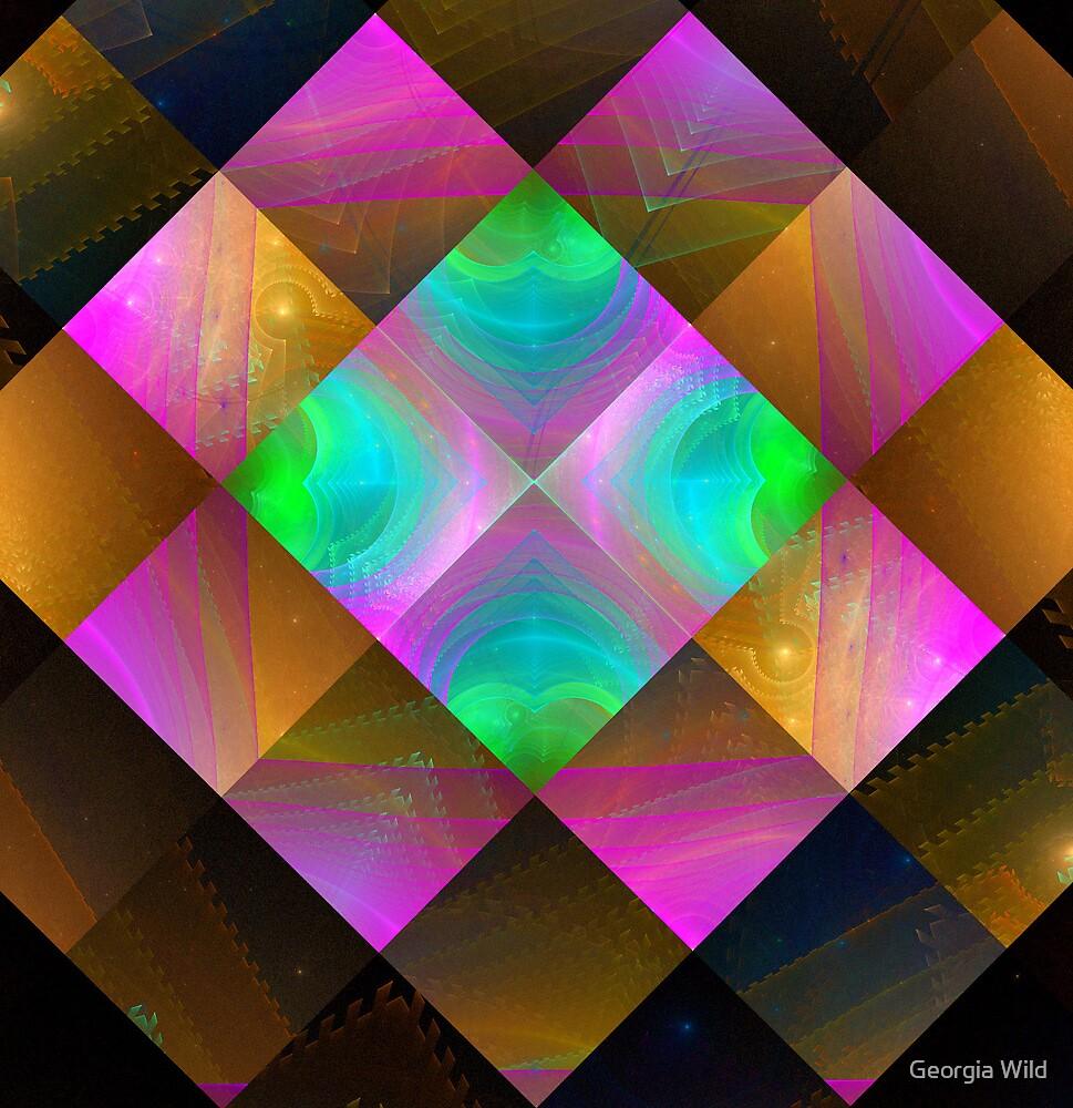 Foci Squares by Georgia Wild