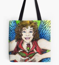 Rose Fairy Tote Bag