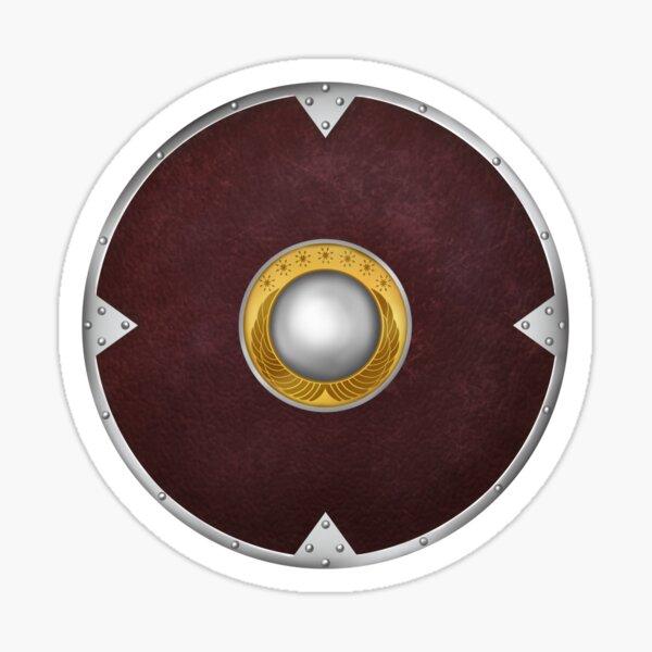Boromir shield graphic Sticker