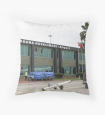 Adana Airport Throw Pillow