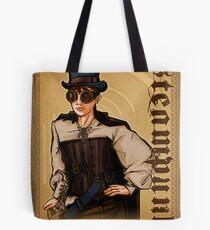 Steampunk Lady Tote Bag