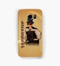 Steampunk Lady Samsung Galaxy Case/Skin