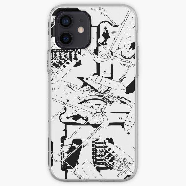 Gitarren über Gitarren iPhone Flexible Hülle