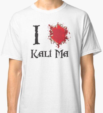 Indiana Jones I love Kali Ma Classic T-Shirt