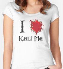 Indiana Jones I love Kali Ma Women's Fitted Scoop T-Shirt