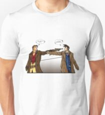 Captain Reynolds vs The Doctor Unisex T-Shirt