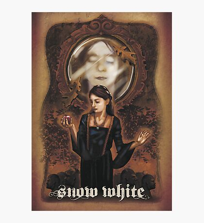 Renaissance Snow White Photographic Print