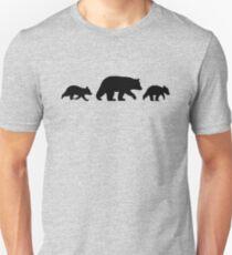 Black Bear with Cubs T-Shirt