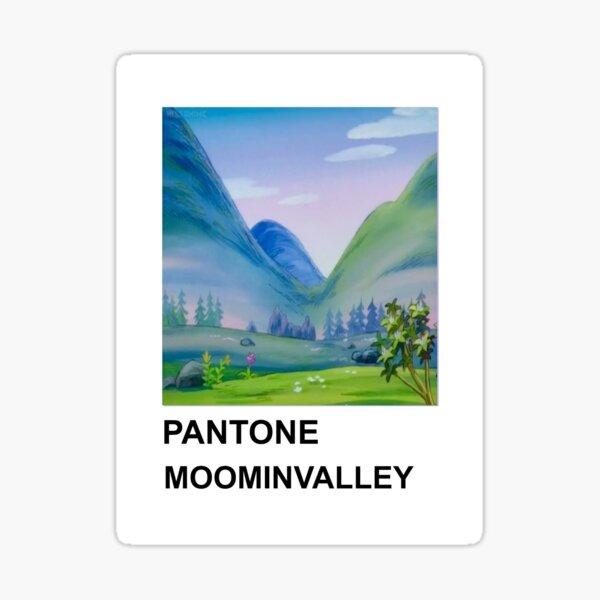 moominvalley pantone Sticker