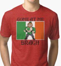 Saint Patrick come at me bro Tri-blend T-Shirt