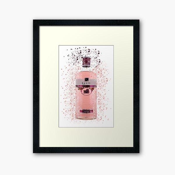 Pink Gin Framed Art Print