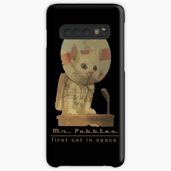 Mr. Pebbles - The first cat in space! Samsung Galaxy Snap Case
