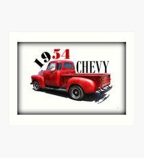 1954 Chevy Art Print