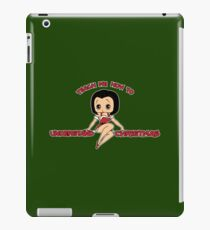 Annie: Teach Me How To Understand Christmas iPad Case/Skin