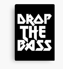 Drop The Bass (ferrum)  Canvas Print