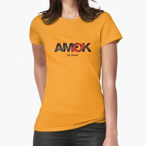 AMOK - fiji islands Fitted T-Shirt