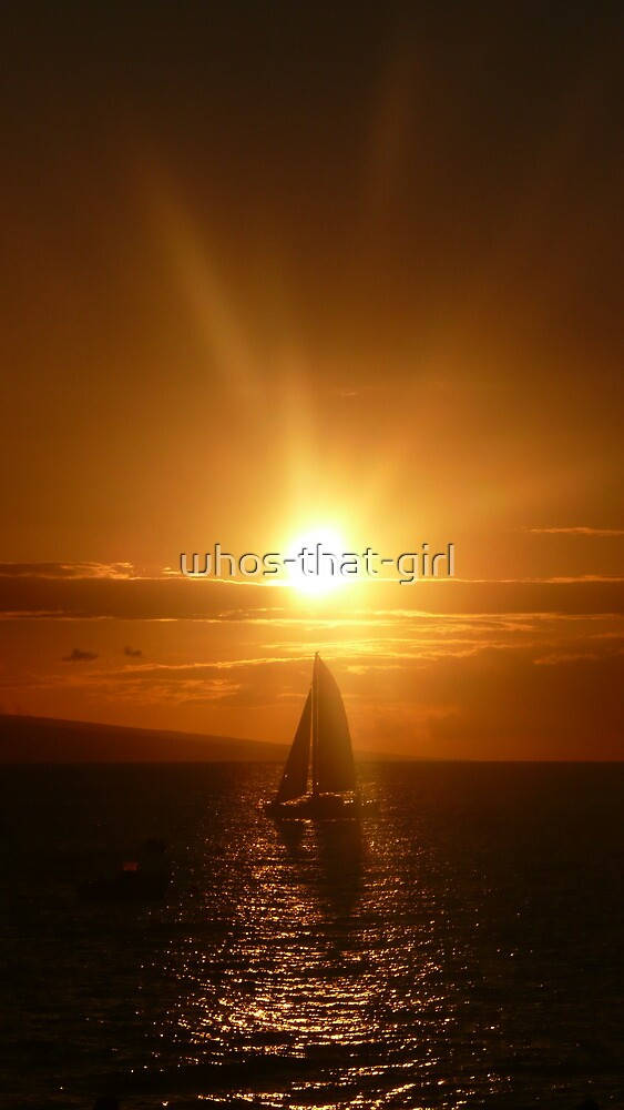 Lahaina Sunset  by whos-that-girl