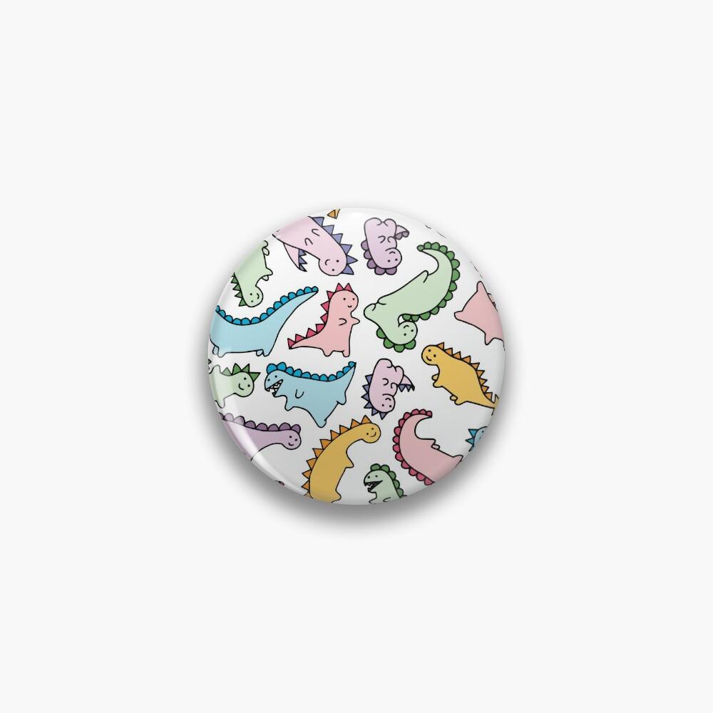 Cute Dino Explosion Pin