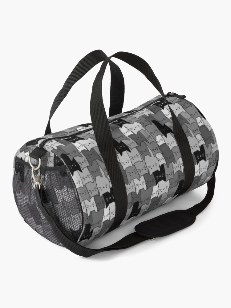 Alternate view of Silent Cats Monochromatic Duffle Bag