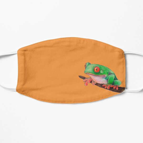 Tree Frog Flat Mask