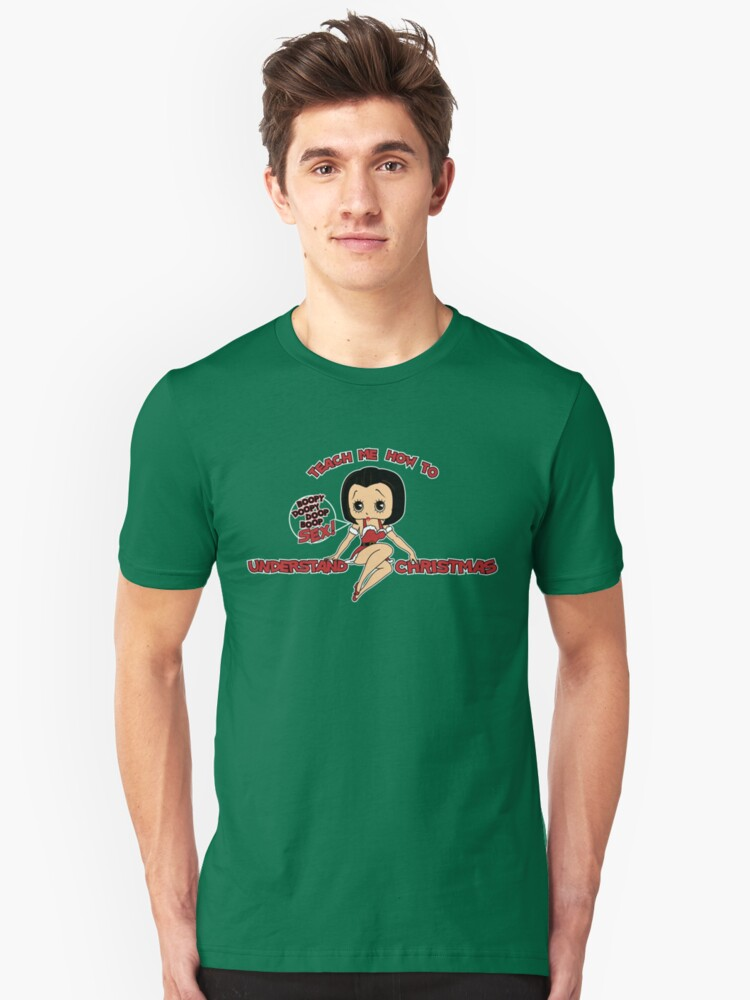 Annie: Teach Me How To Understand Christmas (Variant) Unisex T-Shirt Front
