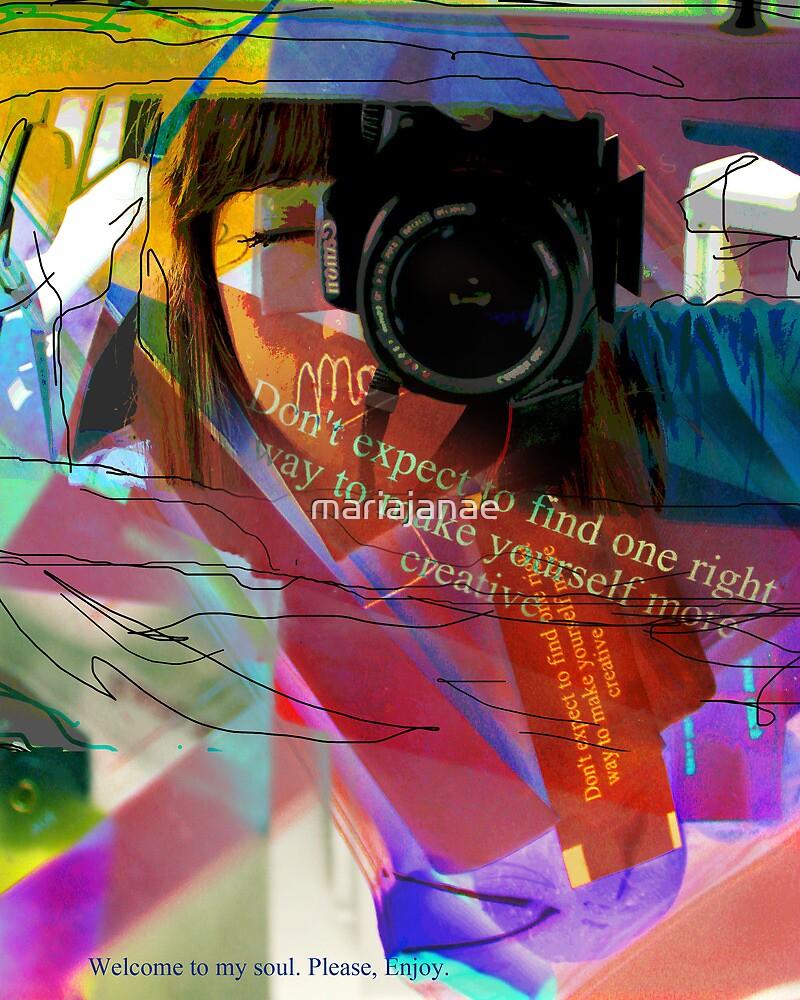 Self Portrait #2 by mariajanae