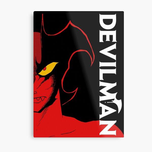 DEVILMAN CLASSIC ANIME Metal Print