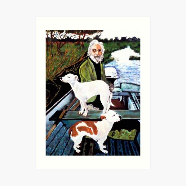 Goodfellas Dogs Painting, Artwork for Wall Art, Prints, Poster, Tshirts, Men, Women, Youth Art Print