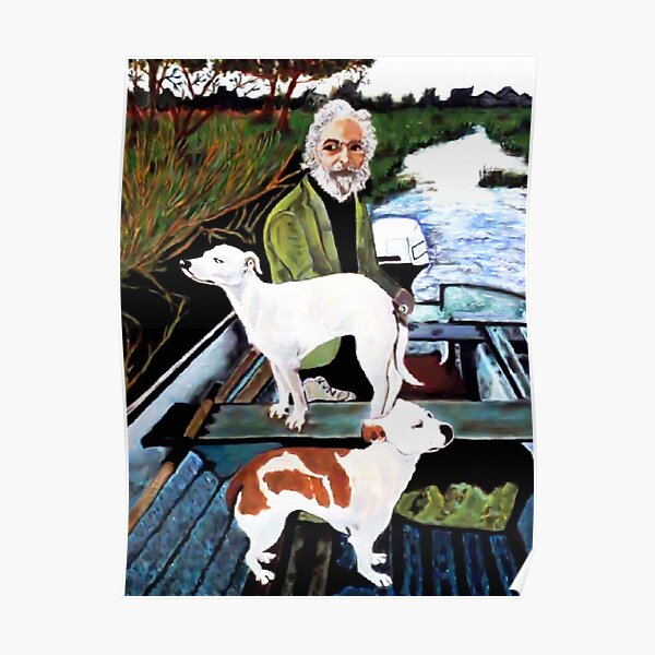 Goodfellas Dogs Painting, Artwork for Wall Art, Prints, Poster, Tshirts, Men, Women, Youth Poster