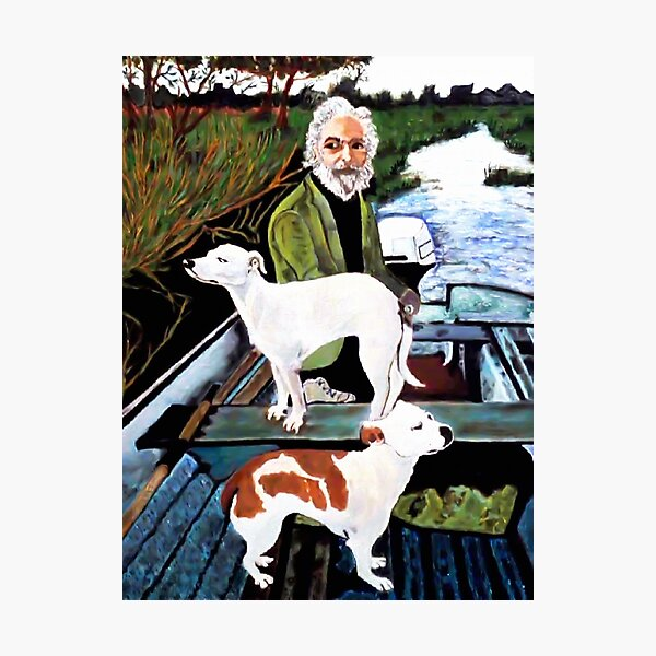 Goodfellas Dogs Painting, Artwork for Wall Art, Prints, Poster, Tshirts, Men, Women, Youth Photographic Print