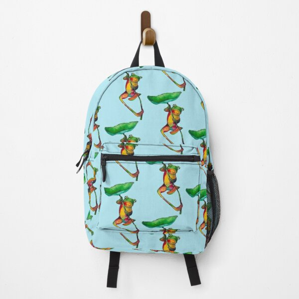 Frog and Lilypad Backpack