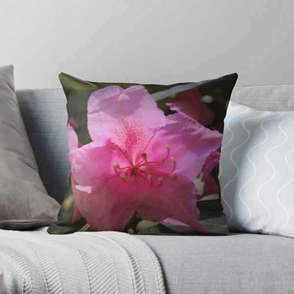 Rhody blossom Throw Pillow