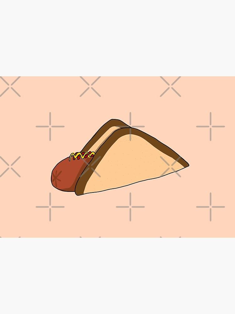 Aussie Snag (Democrat Sausage) Illustration  by pbbrk