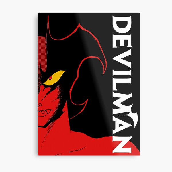 DEVILMAN CLASSIC ANIME-MANGA Metal Print