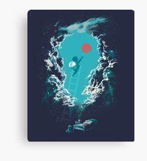 """Good-Night"" Canvas Print"