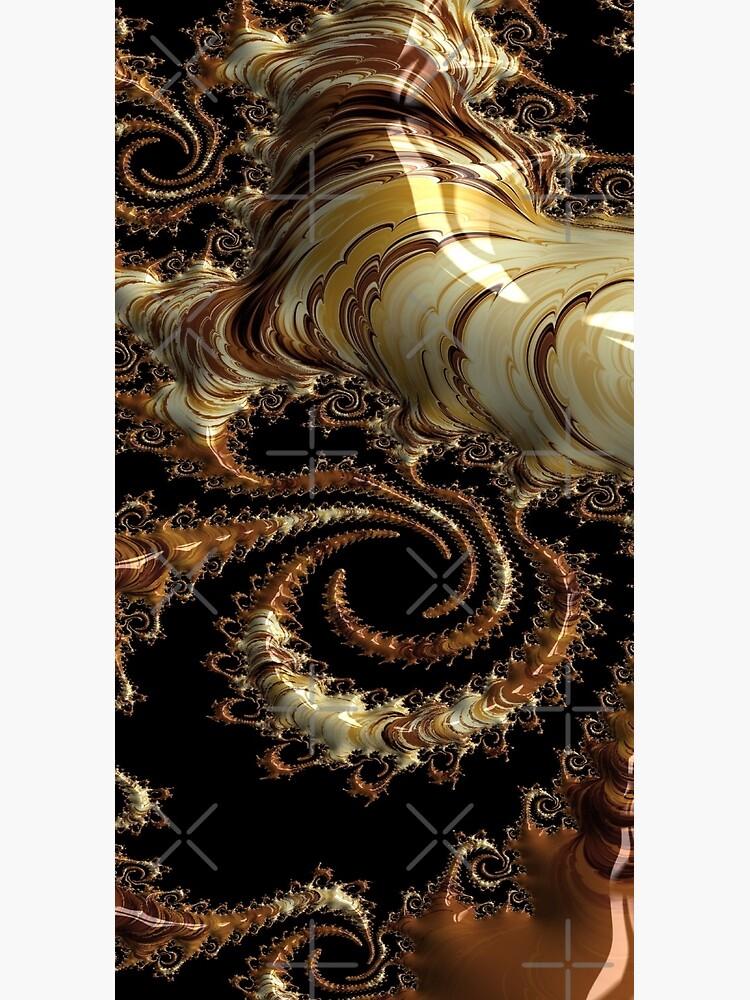Golden world of wonders fractal  by CreaKat