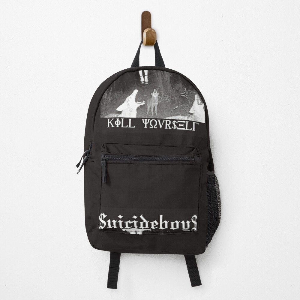 Suicideboys Kill Yourself Official Design Backpack
