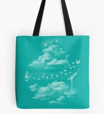 Music Gives Wings Tote Bag