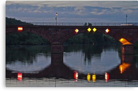 Bridge on the Main River by GW-FotoWerx