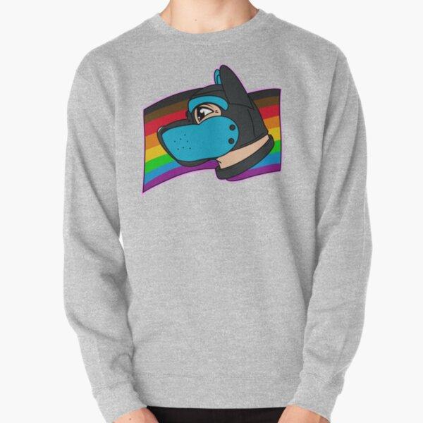 Hellblaue Pup Pride Hood Pullover