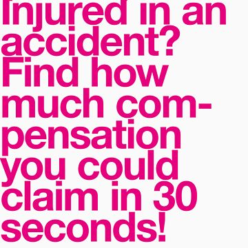 (Spam) Injured! (Magenta type) by poprock