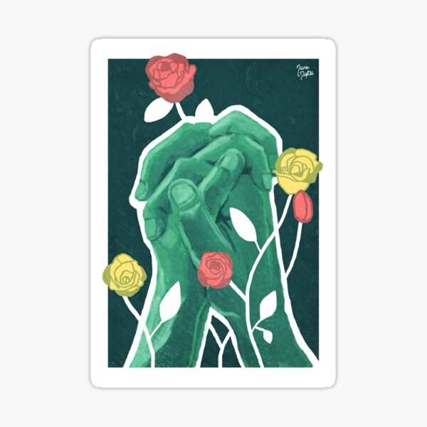 A Rose of Any Other Color (2017) Sticker