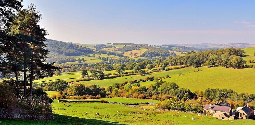 The Derbyshire Peak District UK by Moments In Time Photography
