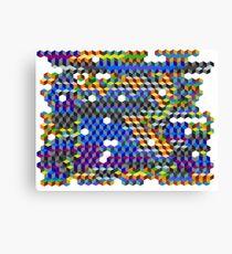 Q Cubes Canvas Print