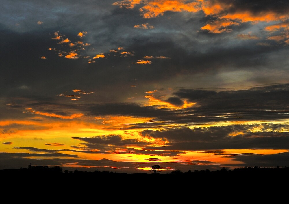 Derbyshire Sunset by Moments In Time Photography