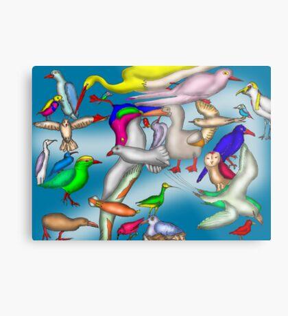 Lord Howe Island Birds Metal Print