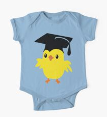 ღ°ټAdorable Nerd Chick on a Graduation Cap Clothing& Stickersټღ° One Piece - Short Sleeve