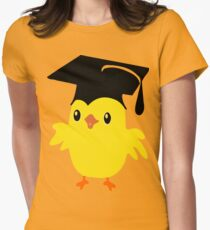 ღ°ټAdorable Nerd Chick on a Graduation Cap Clothing& Stickersټღ° T-Shirt